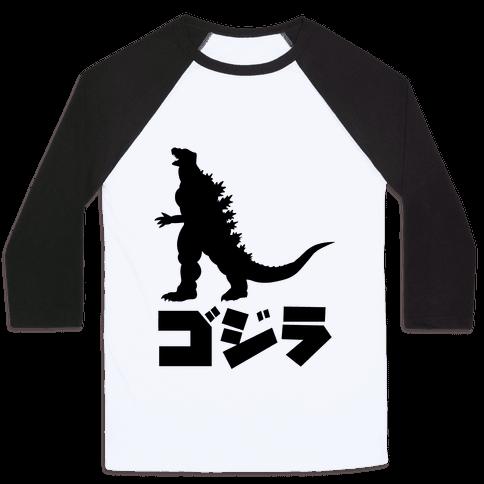 Godzilla Baseball Tee