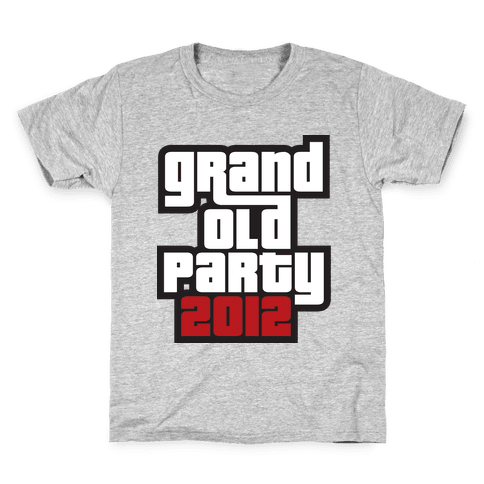 Grand Old Party 2012 Kids T-Shirt