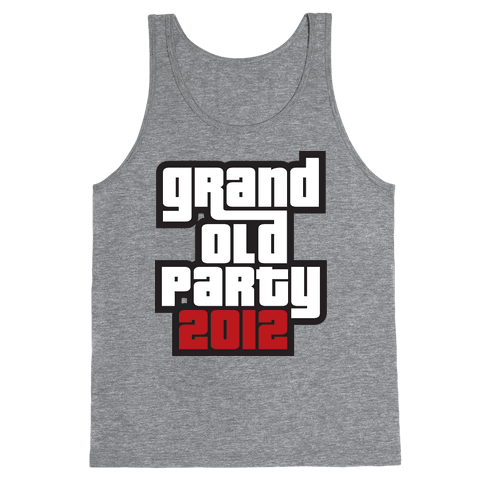 Grand Old Party 2012 Tank Top