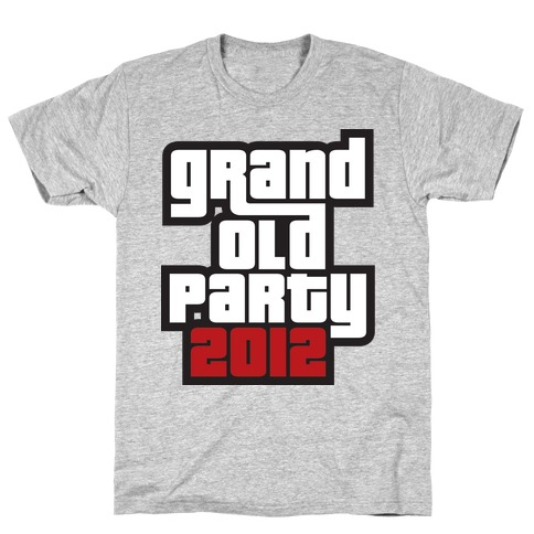 Grand Old Party 2012 Mens T-Shirt