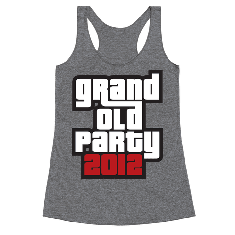 Grand Old Party 2012 Racerback Tank Top