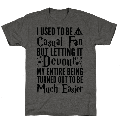I Used To Be A Casual Fan (Harry Potter)