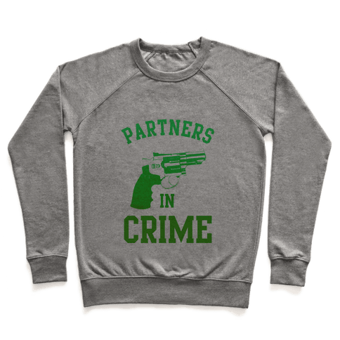 Partners in Crime (Green) Pullover