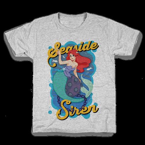 Seaside Siren Kids T-Shirt