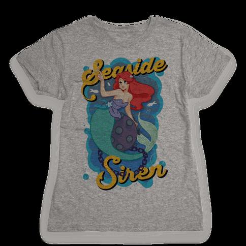 Seaside Siren Womens T-Shirt
