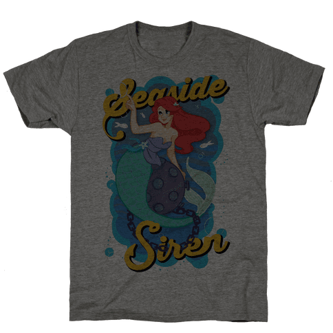Seaside Siren Mens T-Shirt