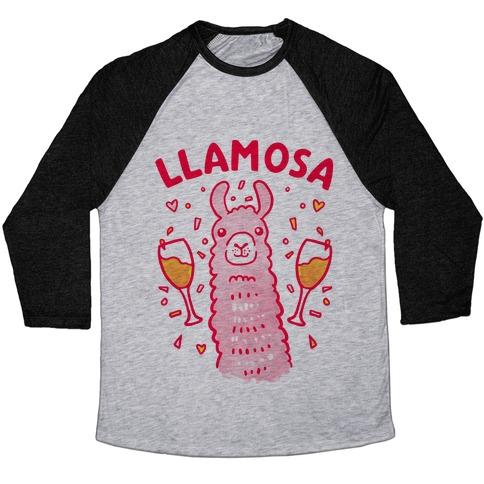 Llamosa Mimosa Baseball Tee