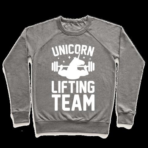 Unicorn Lifting Team (White) Pullover