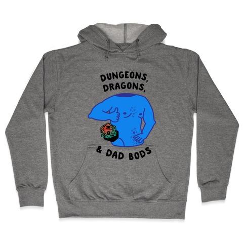 Dungeons, Dragons, & Dad Bods Hooded Sweatshirt