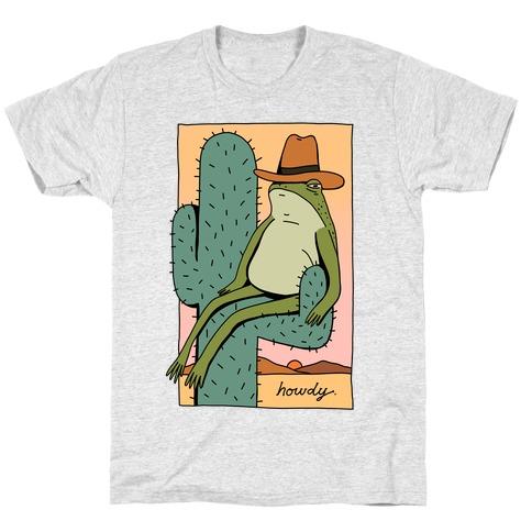 Howdy Frog Cowboy T-Shirt