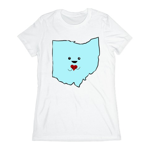 Cutie Ohio Womens T-Shirt