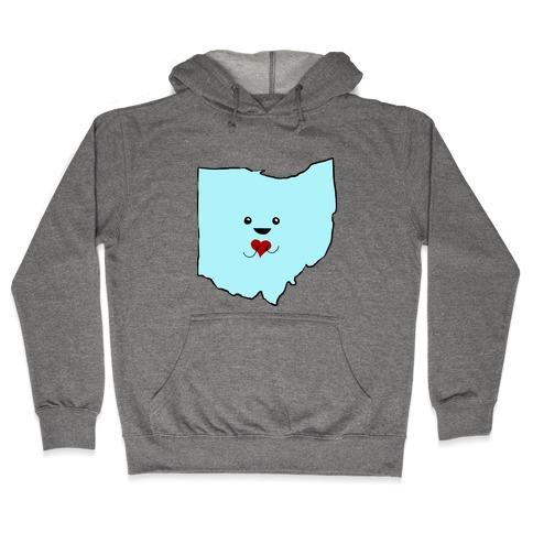 Cutie Ohio Hooded Sweatshirt