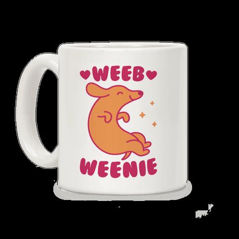 Weeb Weenie Dachshund Coffee Mug