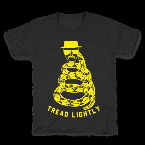 Tread Lightly (Walter White) Kids T-Shirt