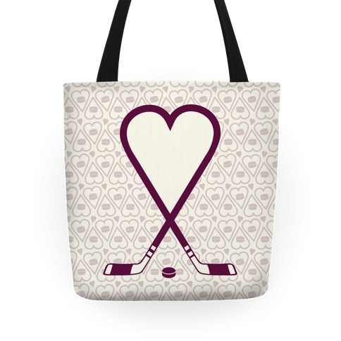Hockey Love Tote