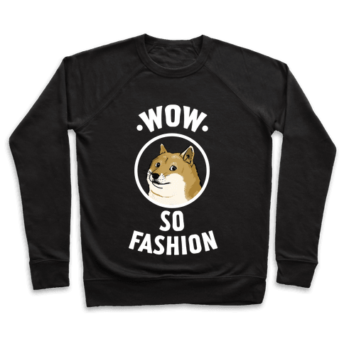 Doge: Wow! So Fashion! Pullover