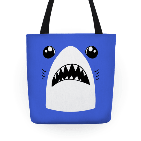 Left Shark Face Tote