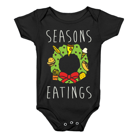 Season's Eatings Baby Onesy