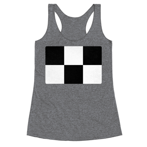 Yume Nikki Sweater Pattern Racerback Tank Top