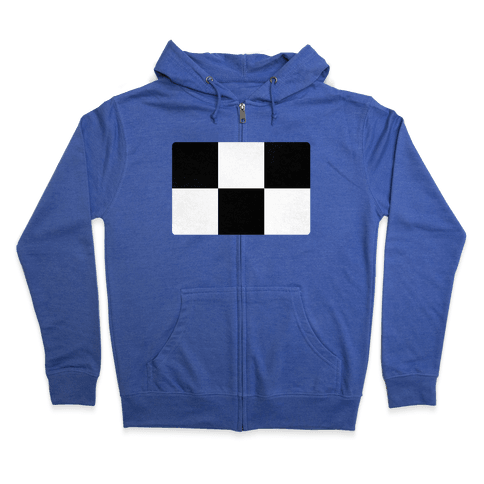 Yume Nikki Sweater Pattern Zip Hoodie