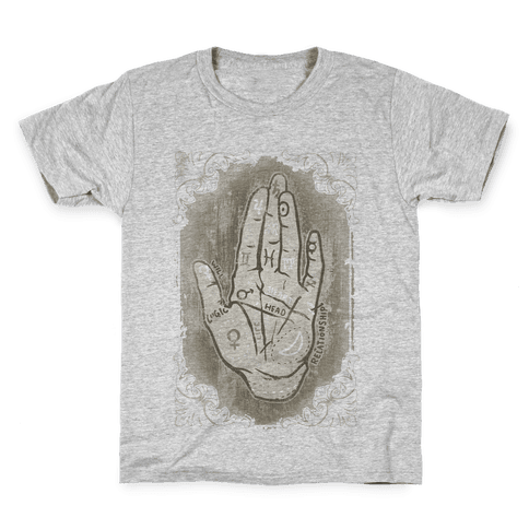 Palm Reading Kids T-Shirt