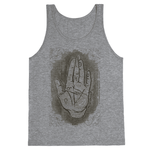 Palm Reading Tank Top