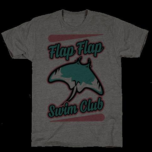 Flap Flap Swim Club Mens T-Shirt
