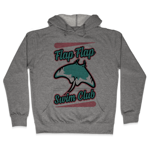 Flap Flap Swim Club Hooded Sweatshirt