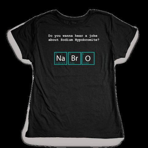 NaBrO (dark) Womens T-Shirt