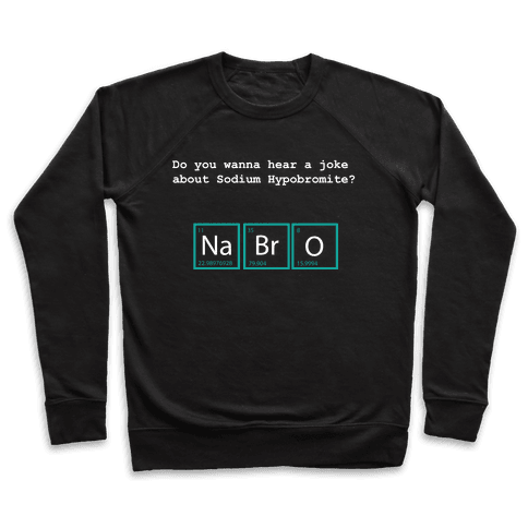 NaBrO (dark) Pullover