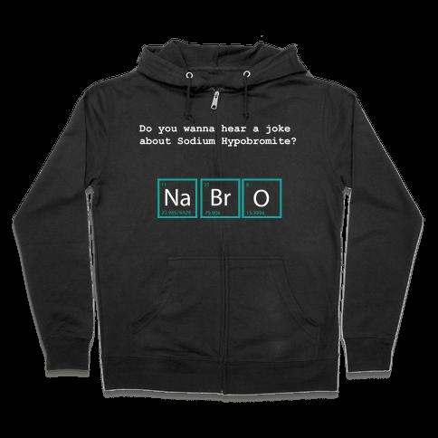 NaBrO (dark) Zip Hoodie