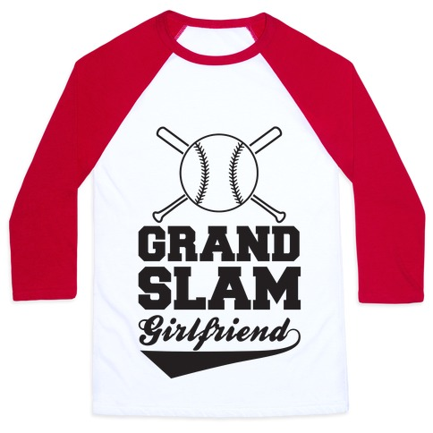 Grand Slam Girlfriend Baseball Tee