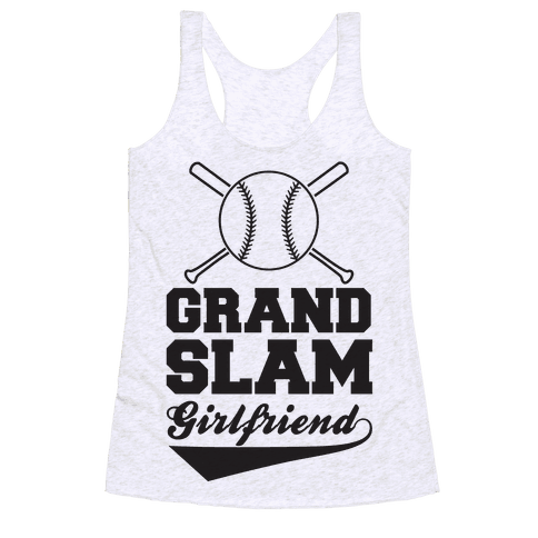 Grand Slam Girlfriend Racerback Tank Top