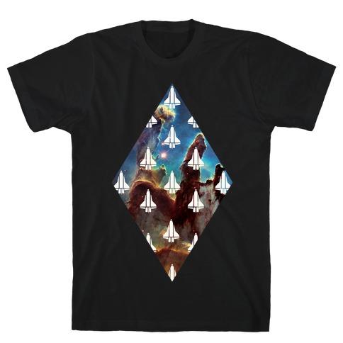 Eagle Nebula Space Race T-Shirt