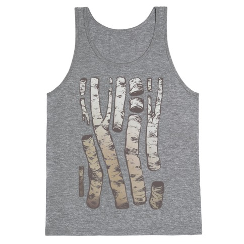 Birch Tree Cuttings Tank Top