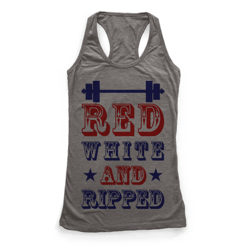 Red White and Ripped
