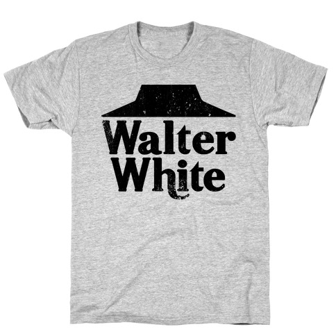 Walter White Roof Pizza T-Shirt