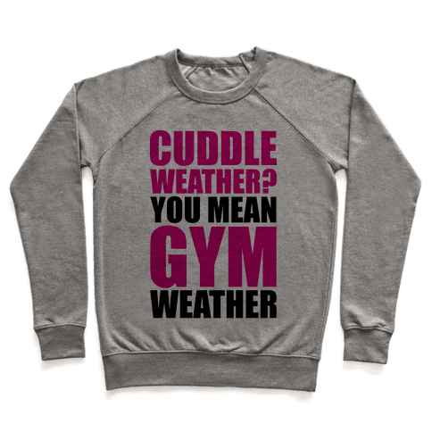 Gym Weather Pullover
