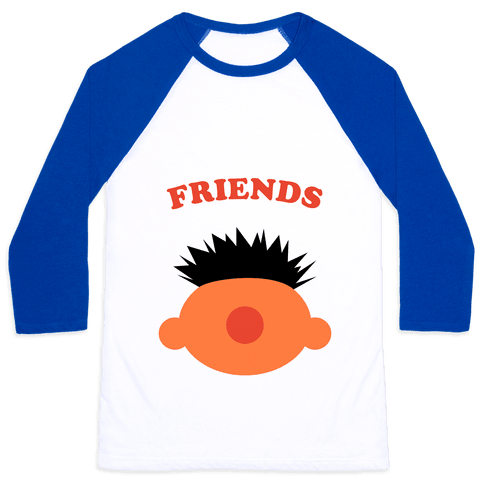Best Friends (Orange) Baseball Tee
