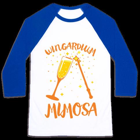Wingardium Mimosa Baseball Tee