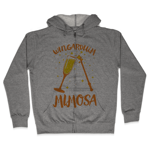 Wingardium Mimosa Zip Hoodie