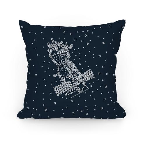 Soyuz-TMA Cross Section Pillow
