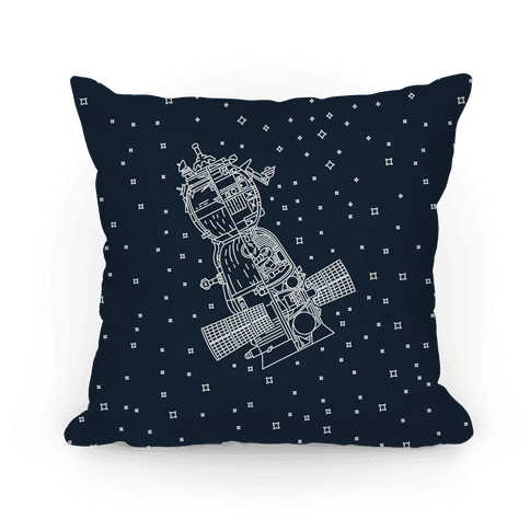 Soyuz-TMA Cross Section Pillow