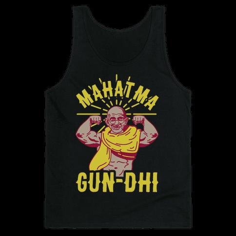 Mahatma Gun-dhi Tank Top