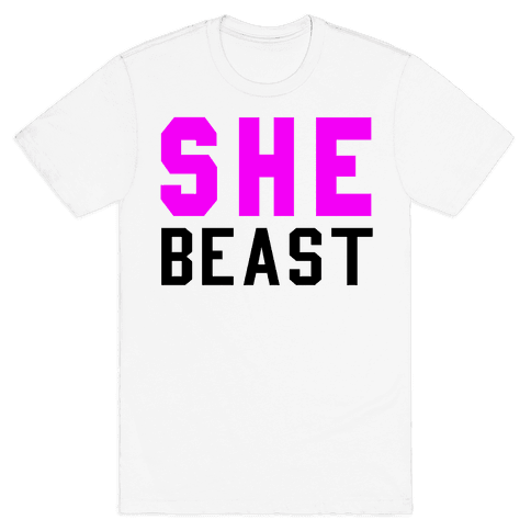 She Beast Mens T-Shirt