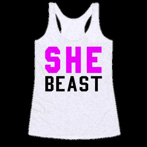 She Beast Racerback Tank Top