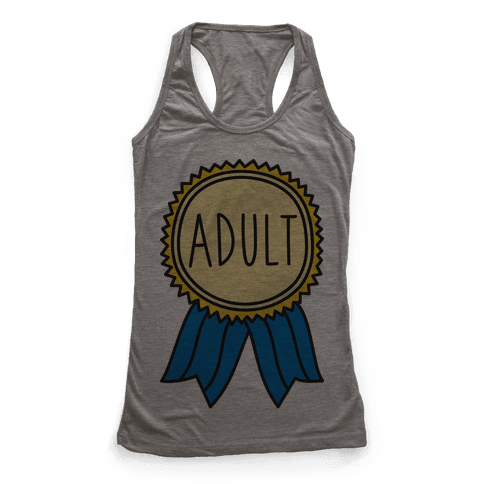Adult Award Racerback Tank Top
