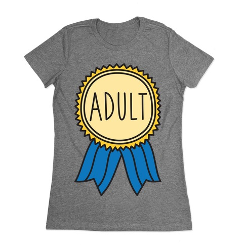 Adult Award Womens T-Shirt