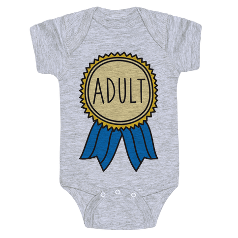 Adult Award Baby Onesy