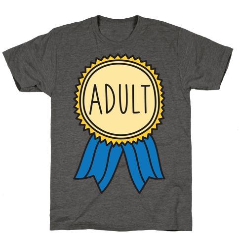 1100e85f Adulting T-Shirts | LookHUMAN